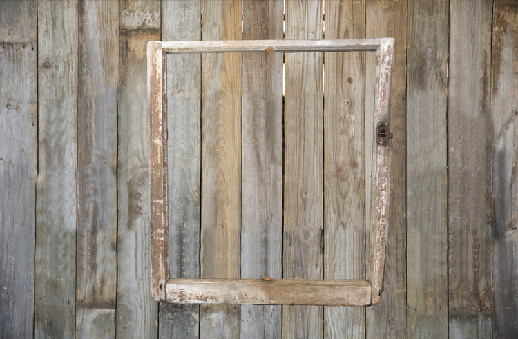 Raw Farmhouse Window