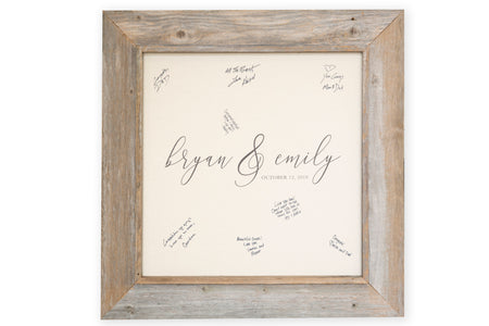 Custom Wedding Signable