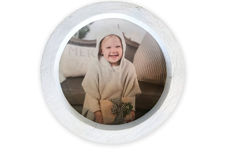 Small Round Frame with Photo