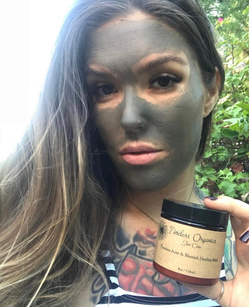 MAY FEATURED PRODUCT:  TIMELESS ACNE & BLEMISH HEALING MASK