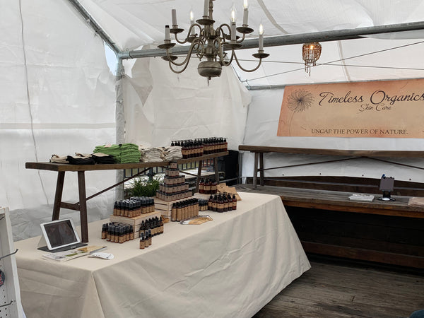 FOR IMMEDIATE RELEASE:  Timeless Organics Skin Care Participates in the Asbury Park Festhalle and Biergarten Spring Market