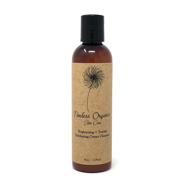 TIMELESS ORGANICS JULY FEATURED PRODUCT:  Exfoliating Crème Cleanser