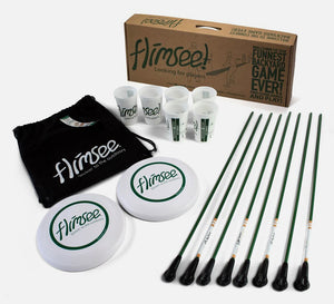Flimsee Game Set - Complete Kit for 2 on 2 Games