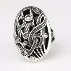 Tibetan Musical Note Ring