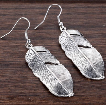 Tibetan Feather Earrings