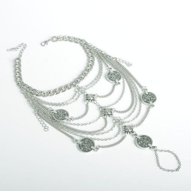 Exquisite Coin Anklet