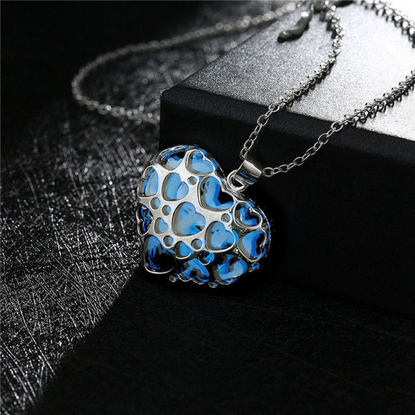 Glowing Pendant Necklace