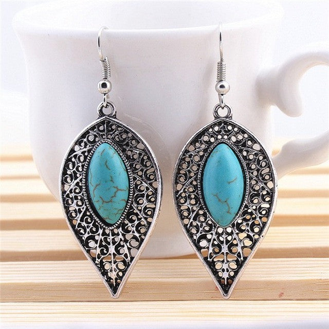 Turquoise Drop Earrings
