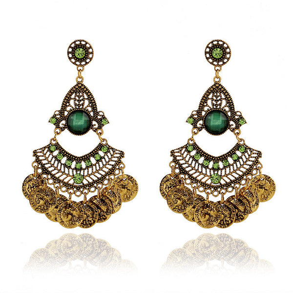 Gypsy Big Drop Earrings