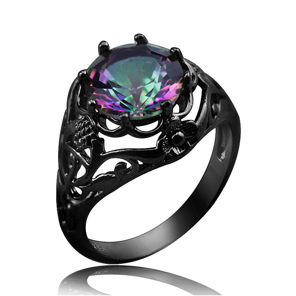 Fire Crystal Ring
