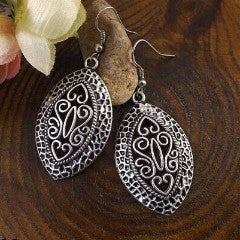 Tibetan Retro Drop Earrings
