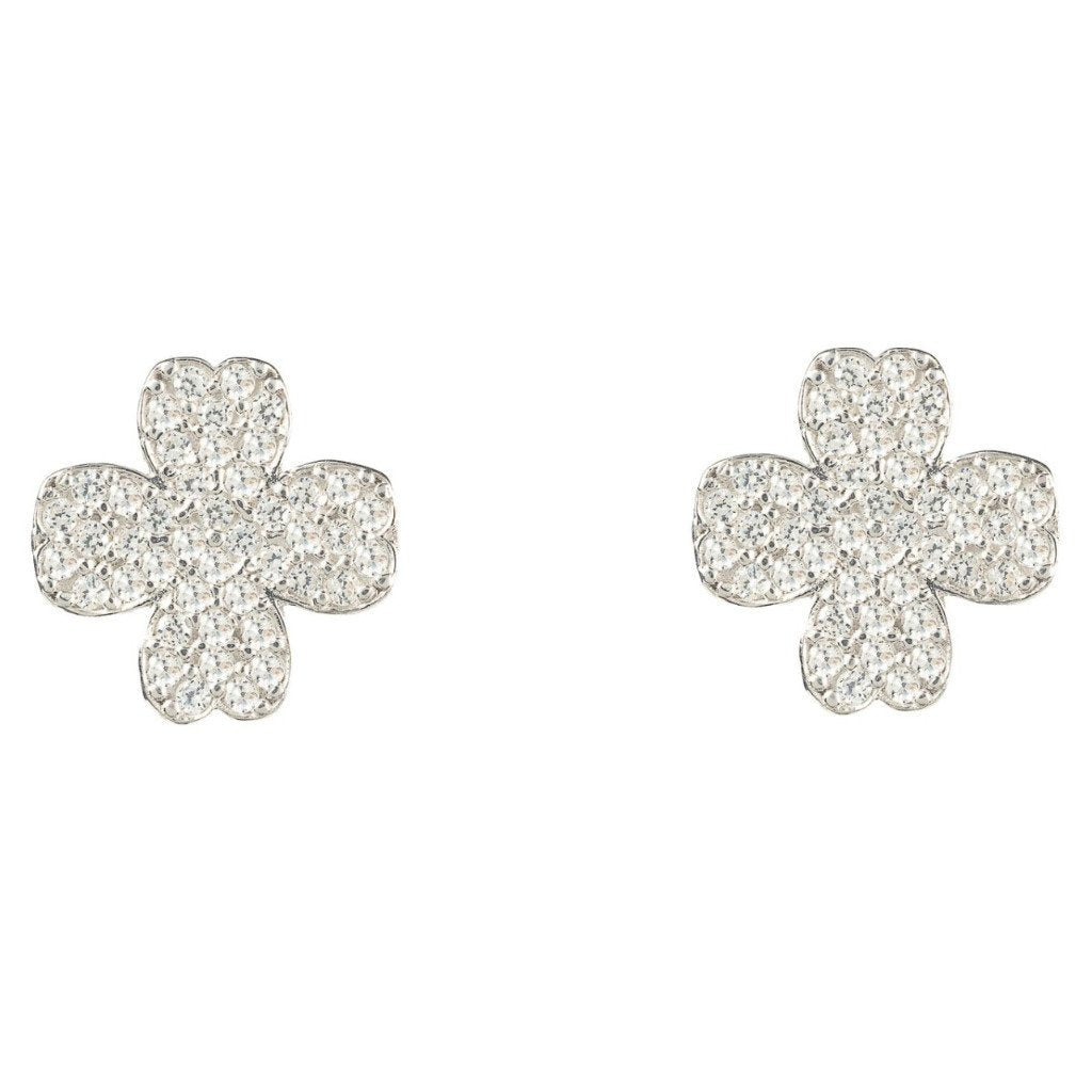 Four leaf clover earring - Sorta Stuff