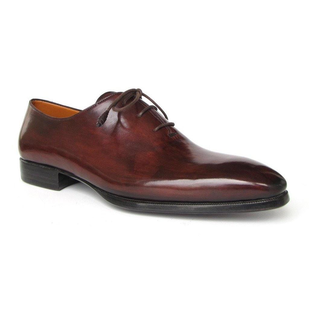 Paul Parkman Men's Oxford Dress Shoes Brown&Bordeaux (ID#22T55) - Sorta Stuff