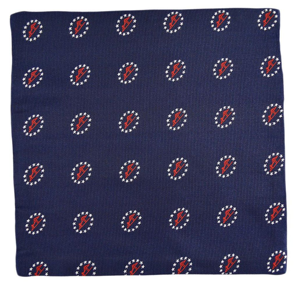 Newport Bridge 4th of July Pocket Square - Sorta Stuff
