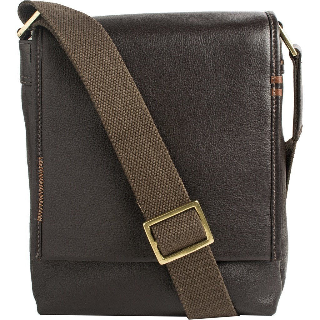 Seattle Unisex Leather Crossbody Messenger - Sorta Stuff