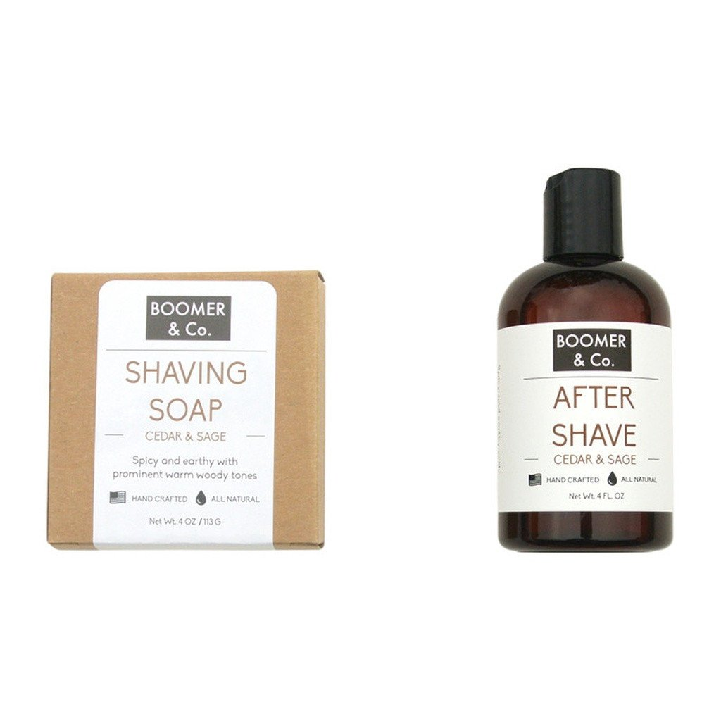Cedar & Sage Shaving Kit - Sorta Stuff