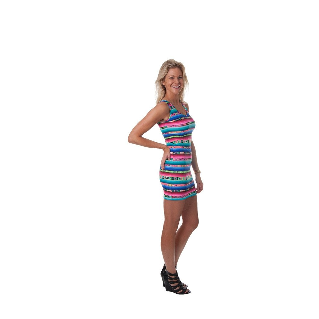 Full Spectrum Rachel Tank Dress - Sorta Stuff