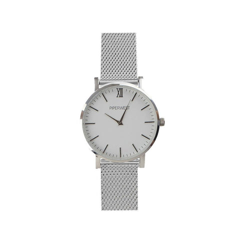 MINI MESH MINIMALIST 32MM SILVER