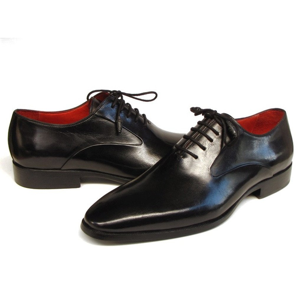 Paul Parkman Men's Black Oxfords  (ID#019-BLK) - Sorta Stuff