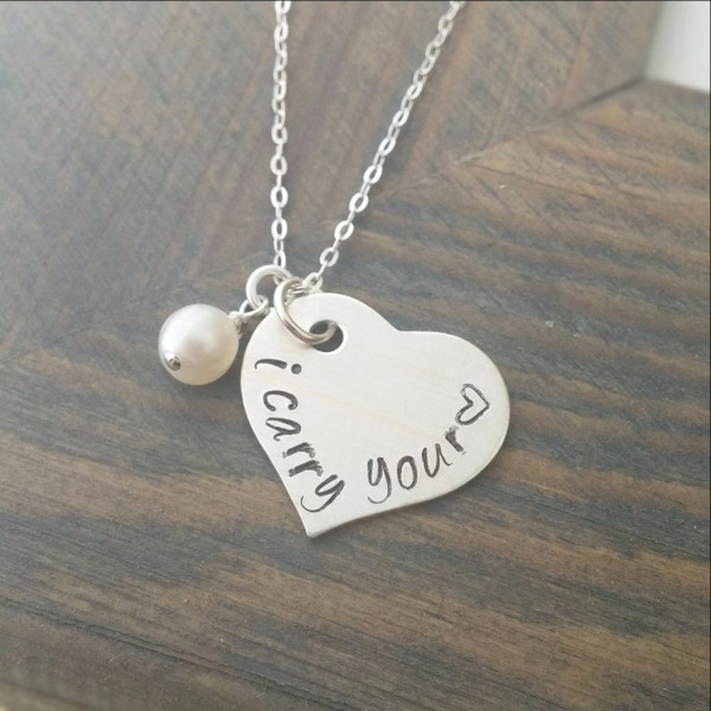 I Carry Your Heart Necklace - Sorta Stuff