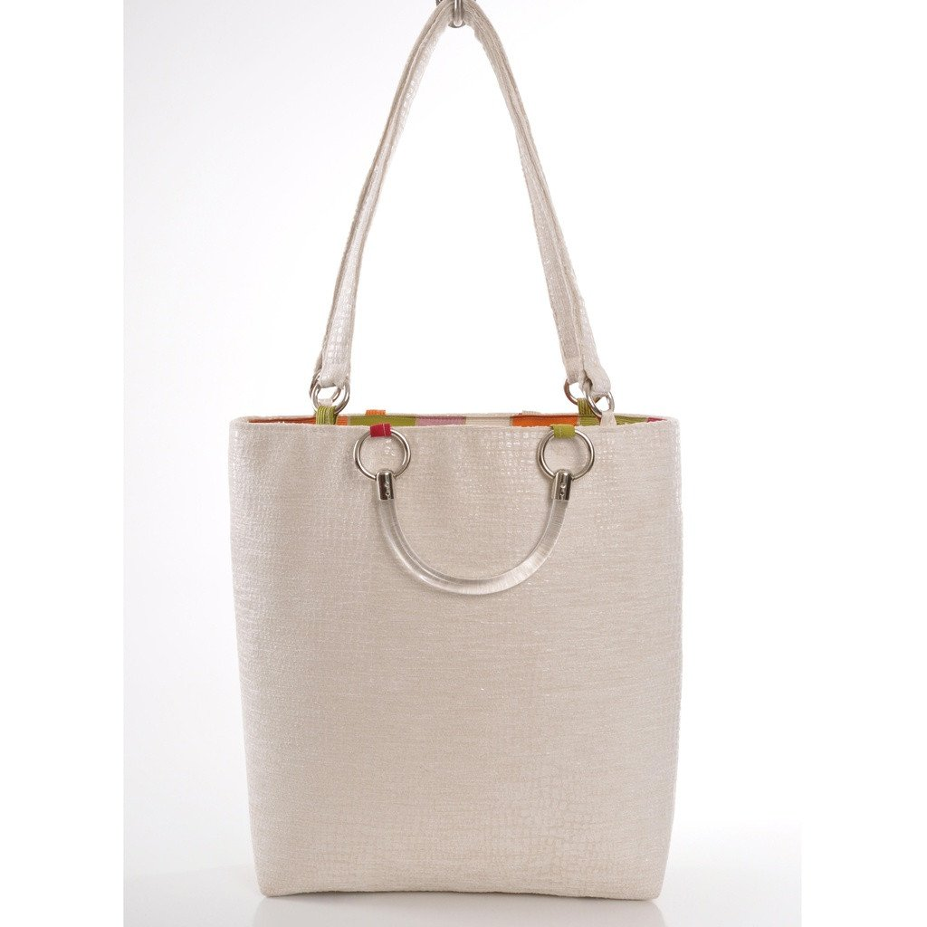 Boa Cream Large Tote