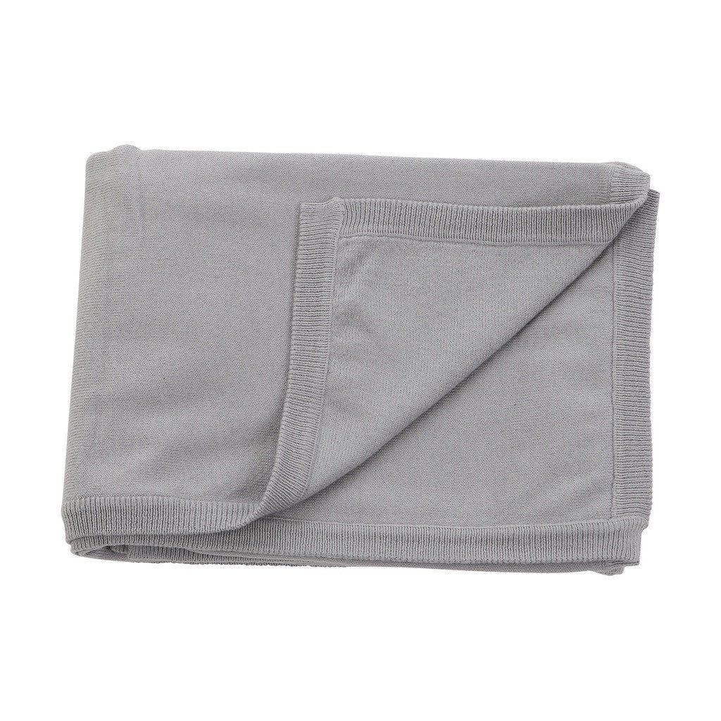 cotton cashmere grey blanket - Sorta Stuff