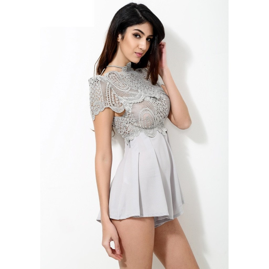 Gray Play Suit - Sorta Stuff