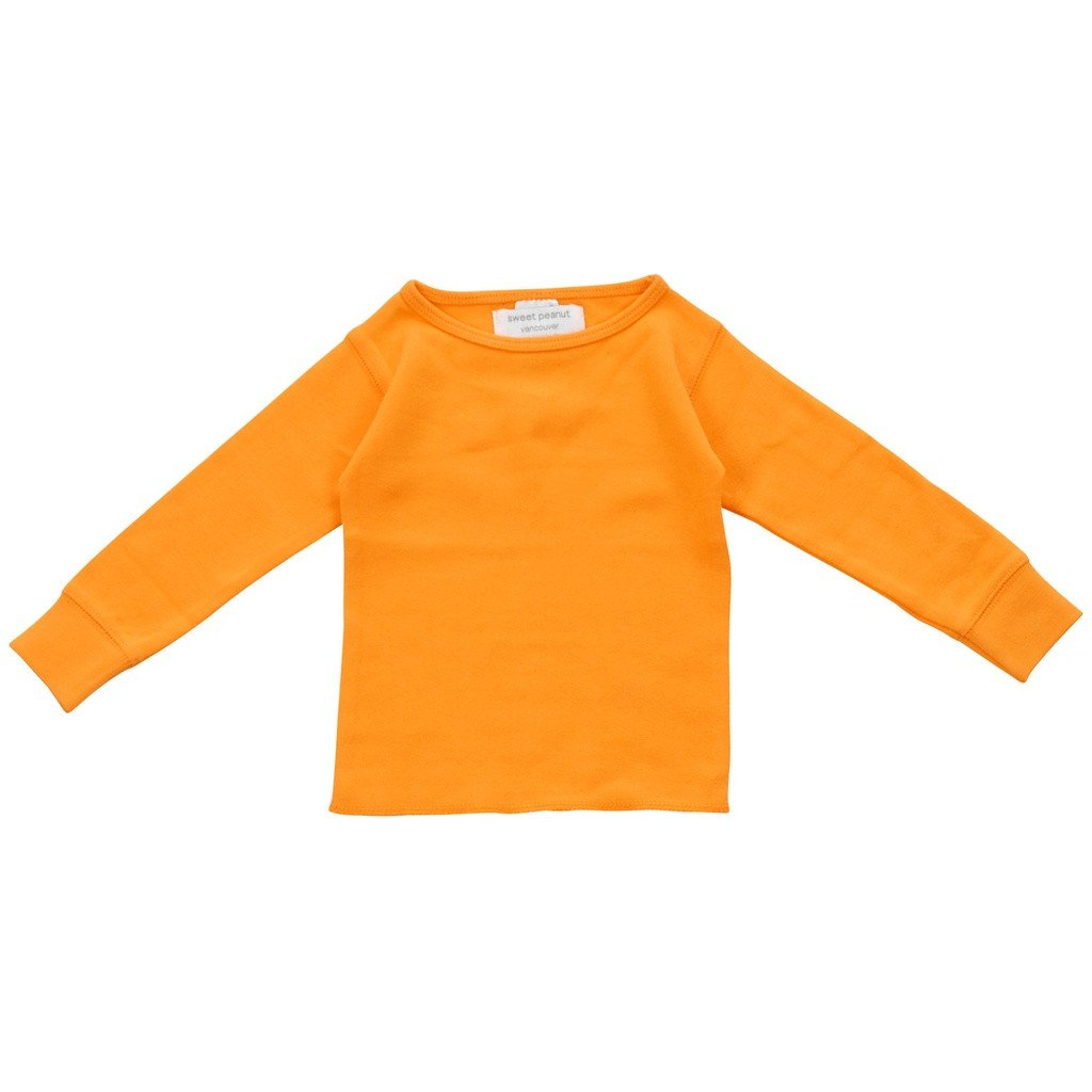 orange long sleeve shirt - Sorta Stuff