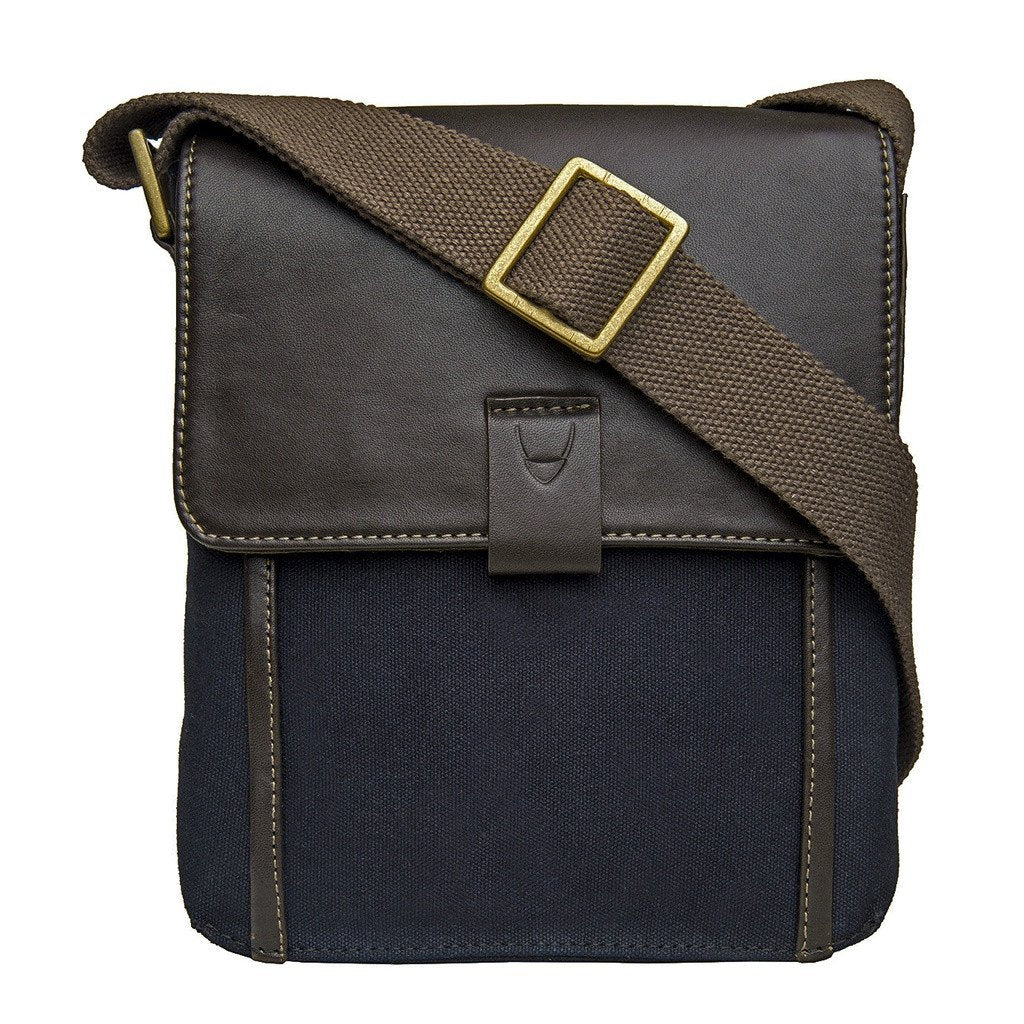 Hidesign Aiden Small Canvas Leather Cross Body - Sorta Stuff