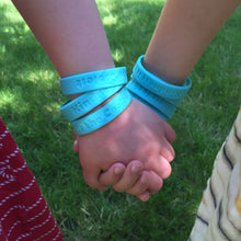 Load image into Gallery viewer, Kindness is the Coolest and World Changer Wristbands