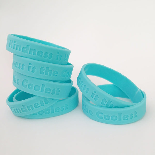 Kindness is the Coolest and World Changer Wristbands