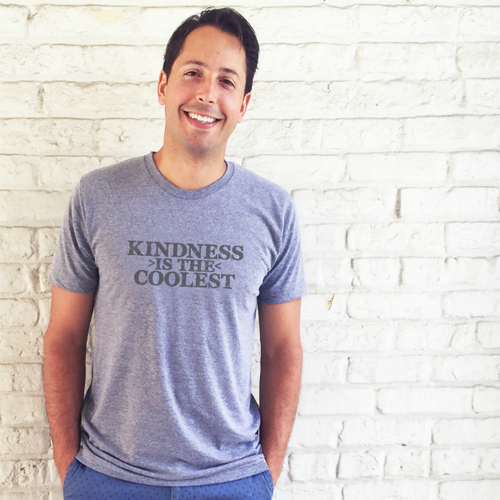 Vintage Unisex Kindness is the Coolest™ Tee