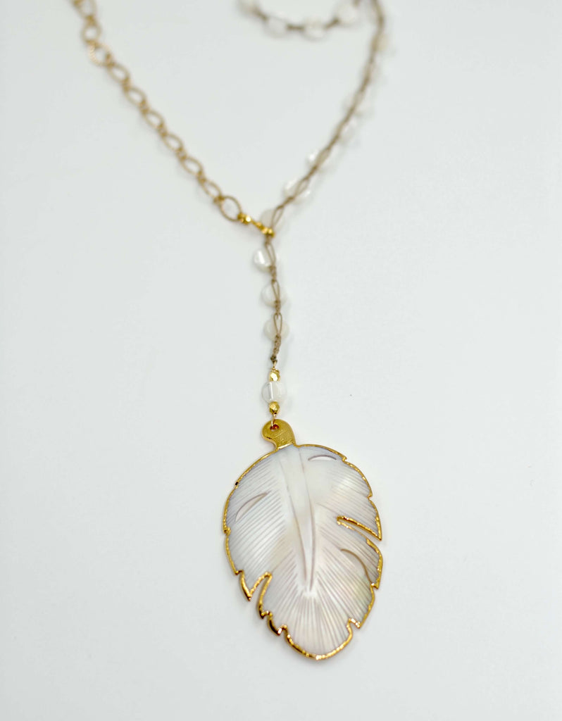 Alabaster | Palm Leaf