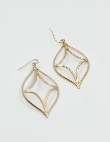 Bohemian Beach Earrings | Gold