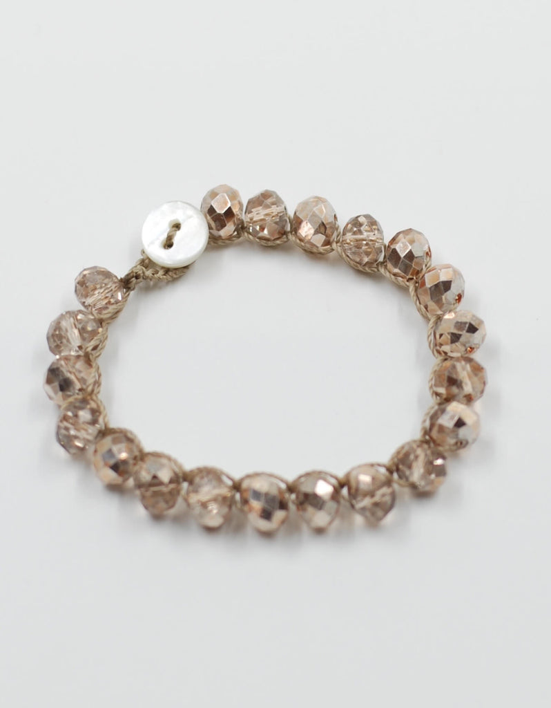 Perfect Stacking Bracelet | Golden Rose