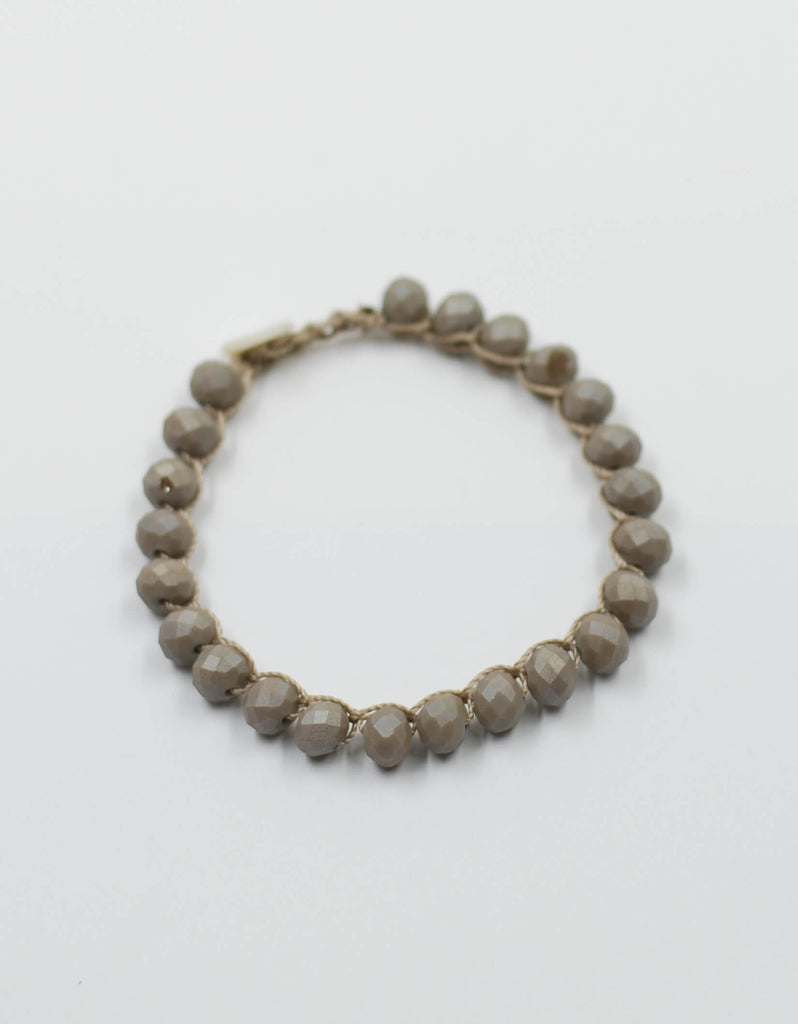 Perfect Stacking Bracelet | Matte Taupe