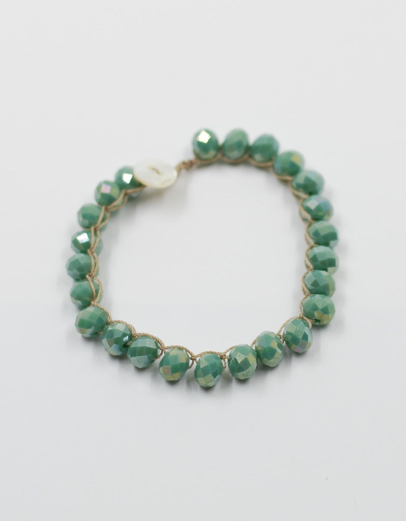 Perfect Stacking Bracelet | Tahitian Turquoise