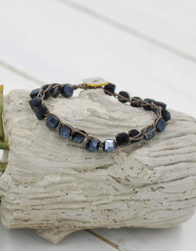 Perfect Stacking Bracelet | Midnight