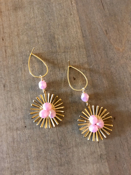 Bloom Studs | Blush
