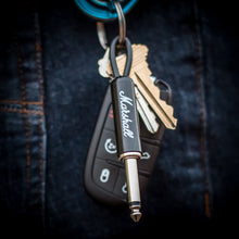 Load image into Gallery viewer, Marshall Guitar Plug Keychain