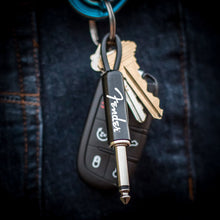 Load image into Gallery viewer, Fender Guitar Plug Keychain