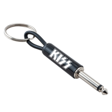Load image into Gallery viewer, KISS Guitar Plug Keychain