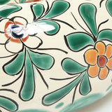 Mexican Amaranta Round Vessel Hand-painted Bathroom Basin