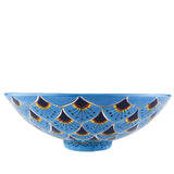 Mexican Casandra Spherical Vessel Hand-painted Bathroom Basin