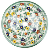 Mexican Consuela Spherical Vessel Hand-painted Bathroom Basin
