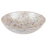 Mother of pearl vessel basin  BATHROOM SINK