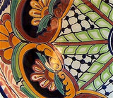Mexican Colourful Ceramic Talavera Sink - Greca - Drop-in Basin