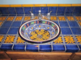 Mexican Marigold Ceramic Talavera Sink - Drop-in Basin