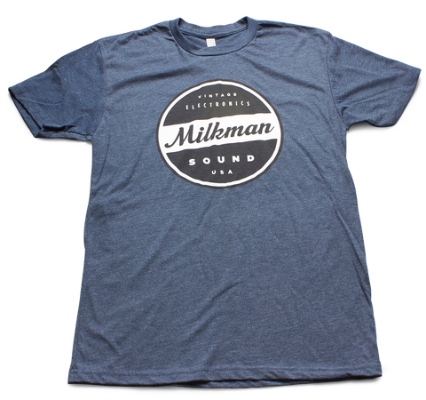 Blue Milkman T Shirt