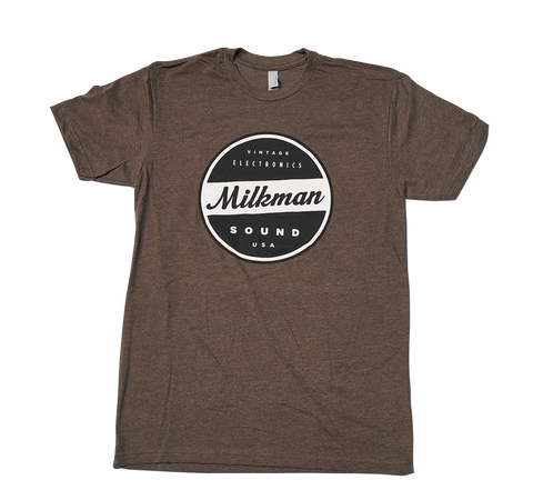 Brown Milkman T Shirt